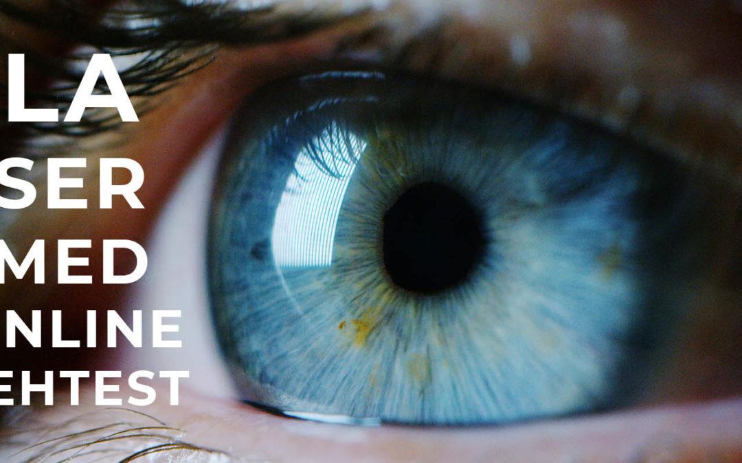 Neu: Deutschlands erster Online-Sehtest für Augenlasern