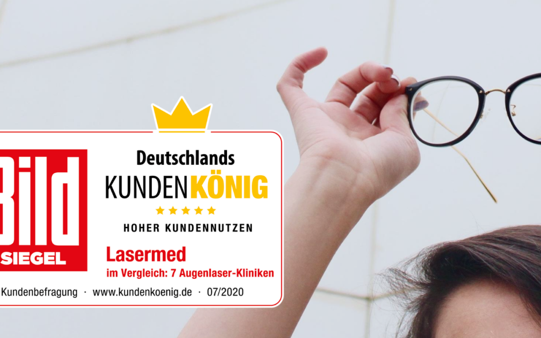 """Lasermed ist """"Deutschlands Kundenkönig"""" – Kundenbefragung im Auftrag der Bild ergibt: Hoher Kundennutzen"""